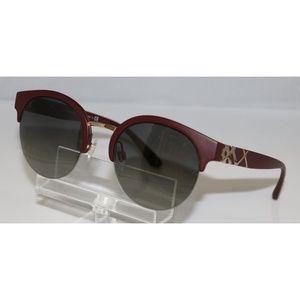New Burberry Matte Bordeaux Sunglasses